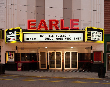 Movies at the EARLE